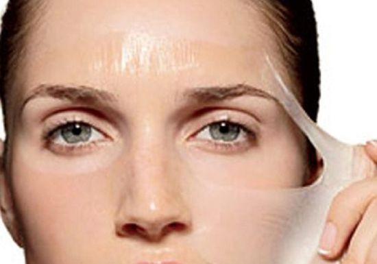 صورة تقشير البشرة الدهنية , احصلي علي وجه مشرق وتخلصي من بشرتك الدهنيه.