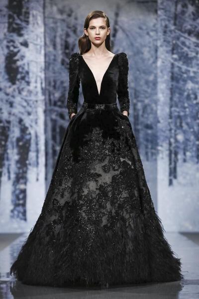 بالصور فستان مخمل , اشيك الفساتين لاجمل الفتيات 4790 11