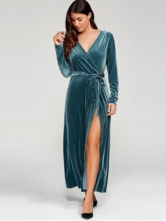 بالصور فستان مخمل , اشيك الفساتين لاجمل الفتيات 4790 2