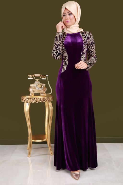 بالصور فستان مخمل , اشيك الفساتين لاجمل الفتيات 4790 3