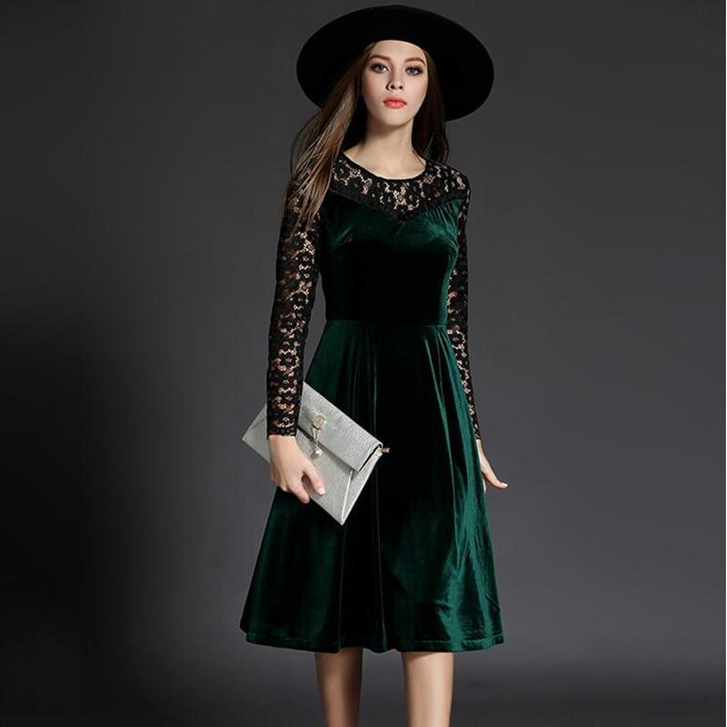 بالصور فستان مخمل , اشيك الفساتين لاجمل الفتيات 4790 4