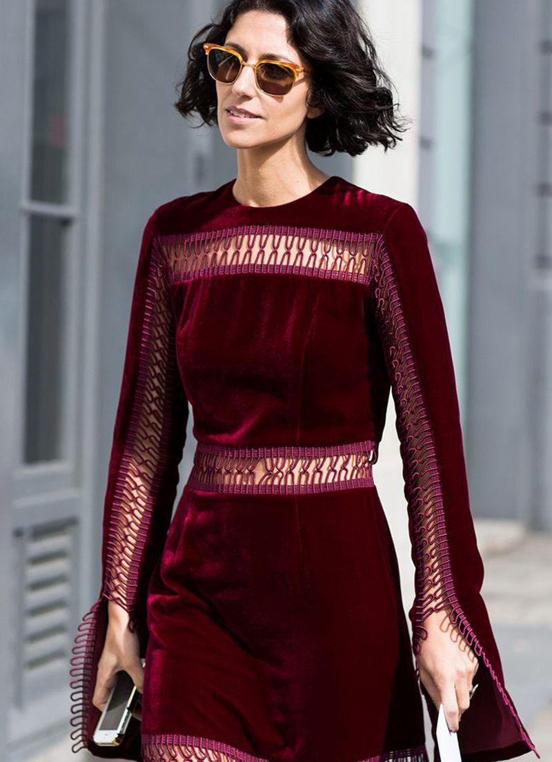 بالصور فستان مخمل , اشيك الفساتين لاجمل الفتيات 4790 5