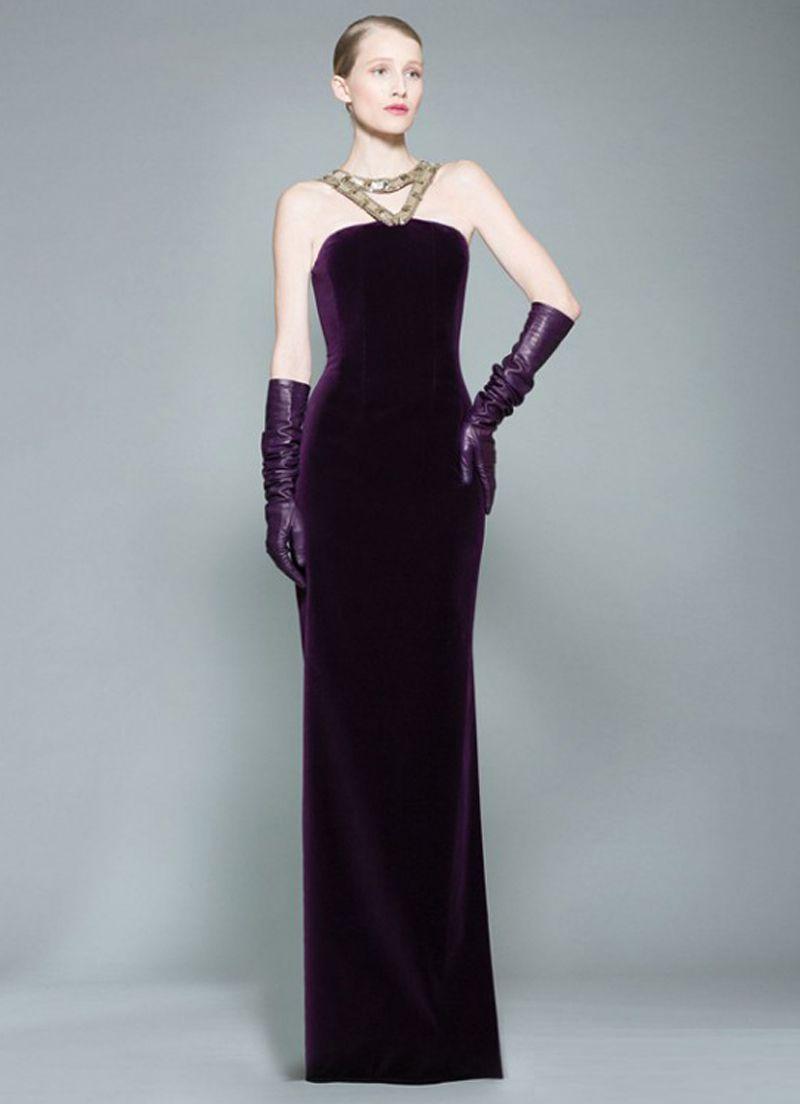 بالصور فستان مخمل , اشيك الفساتين لاجمل الفتيات 4790 7