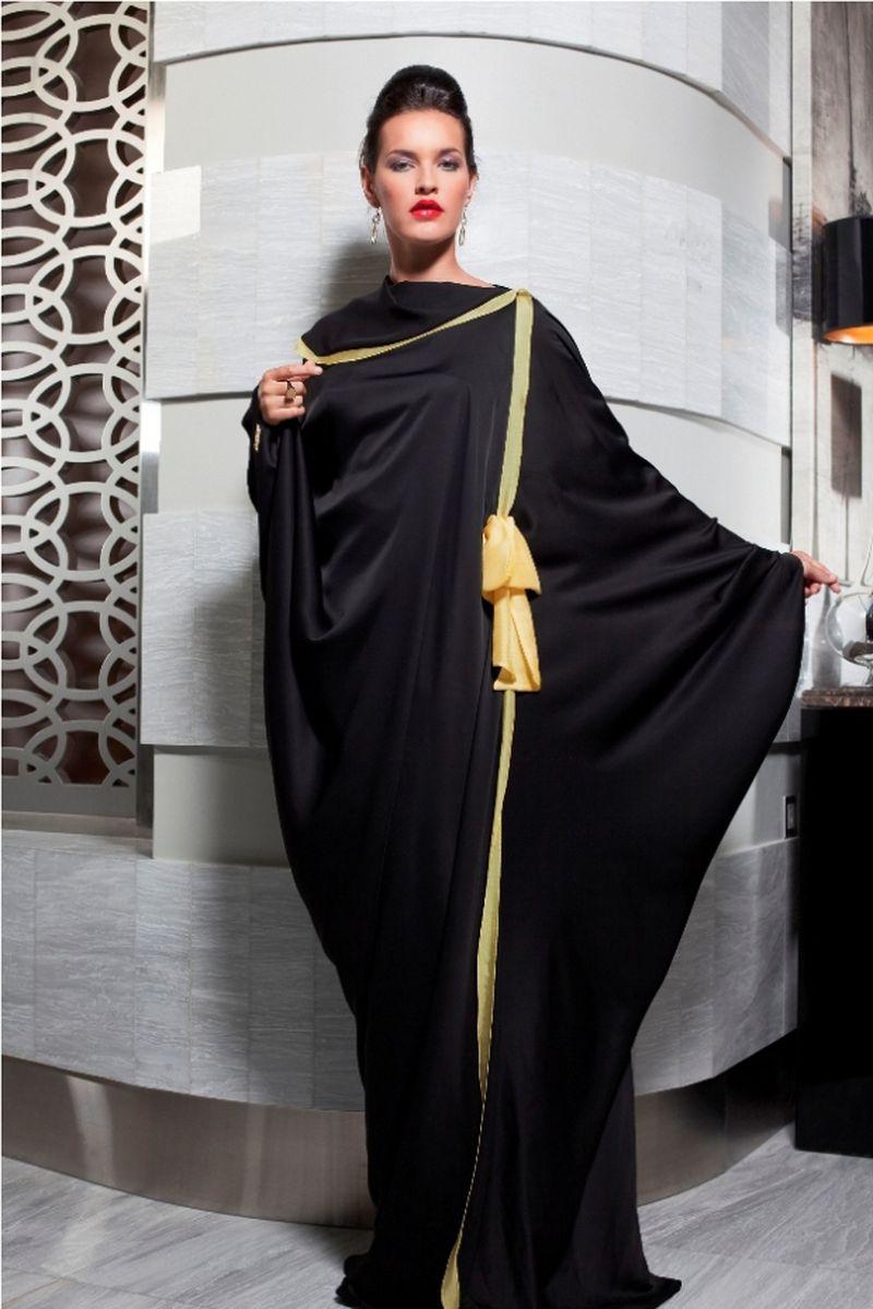 صور عباية اماراتية , للعبايات الاماراتيه ذوق خاص تنفرد به