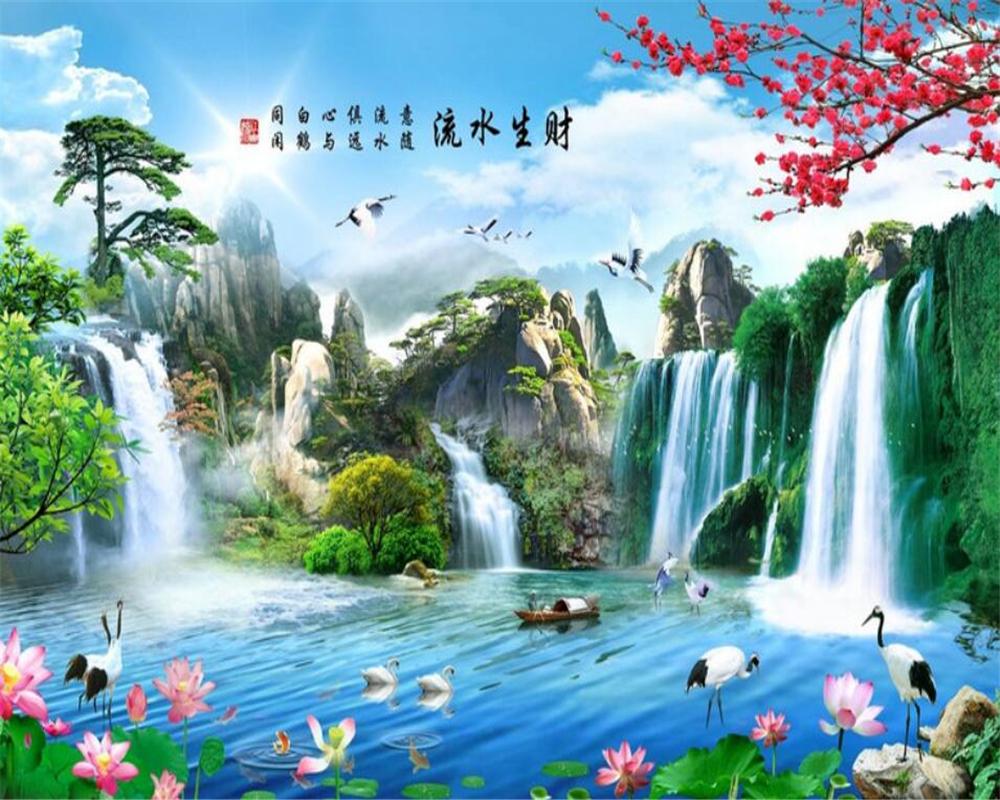 بالصور رسم منظر طبيعي باليد , اظهر موهبتك برسم اجمل لوحات المناظر الطبيعيه 4843 2