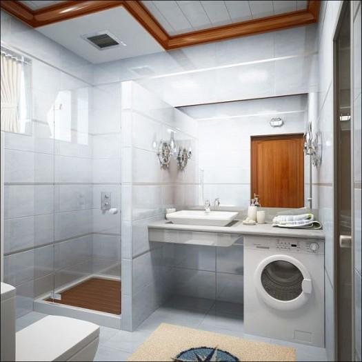 صور حمامات صغيرة , ديكورات روعة تستغل الاماكن الضيق