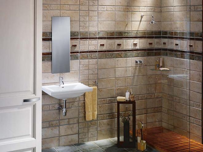 بالصور حمامات صغيرة , ديكورات روعة تستغل الاماكن الضيق 541 11