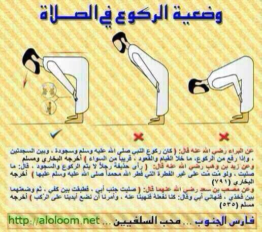 بالصور طريقة الصلاة الصحيحة بالصور , تجنب الاخطاء الشائعه في الصلاه 670 10