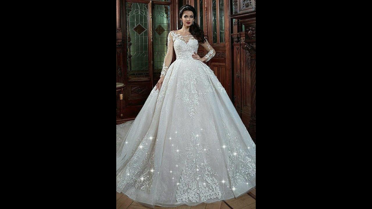 بالصور صور بدلات اعراس , فستان زفاف لا يقاوم جماله 125