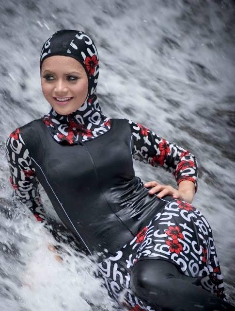 بالصور مايوه اسلامي , افضل ملابس للمصيف للمحجبات 180 3