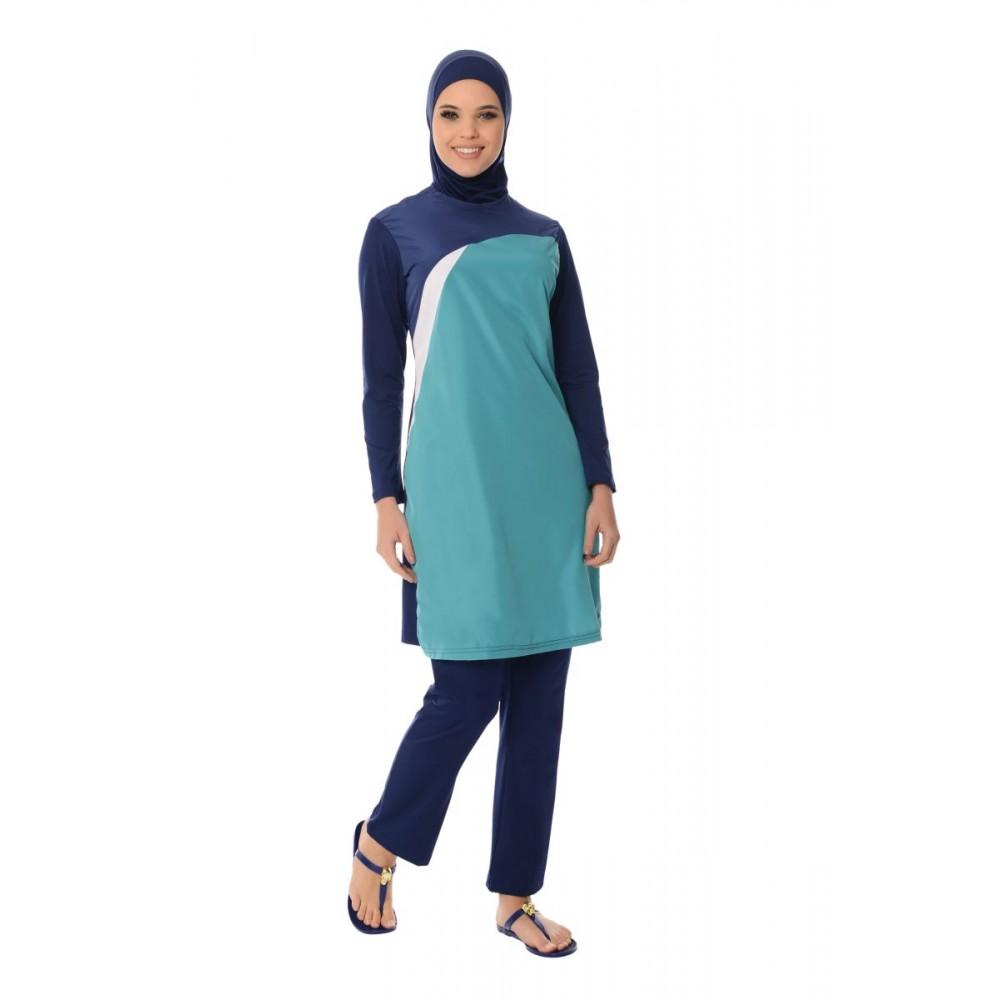 بالصور مايوه اسلامي , افضل ملابس للمصيف للمحجبات 180 4