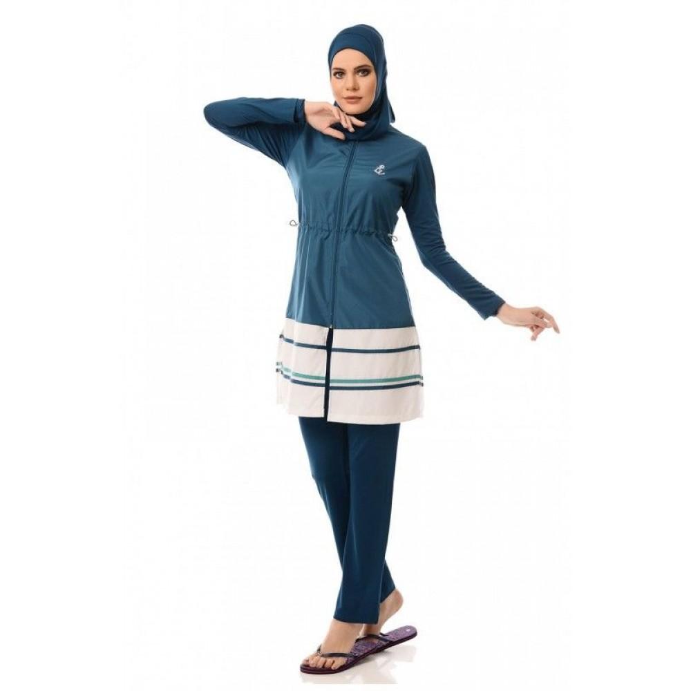 بالصور مايوه اسلامي , افضل ملابس للمصيف للمحجبات 180 5