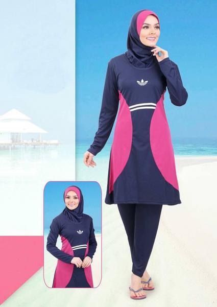 بالصور مايوه اسلامي , افضل ملابس للمصيف للمحجبات 180 6