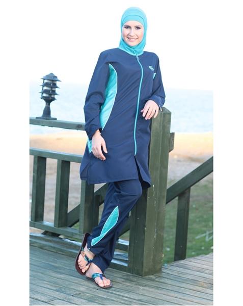 بالصور مايوه اسلامي , افضل ملابس للمصيف للمحجبات