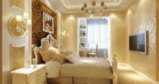 صور ديكورات جبس غرف نوم , ديكور غرفة نوم يجنن