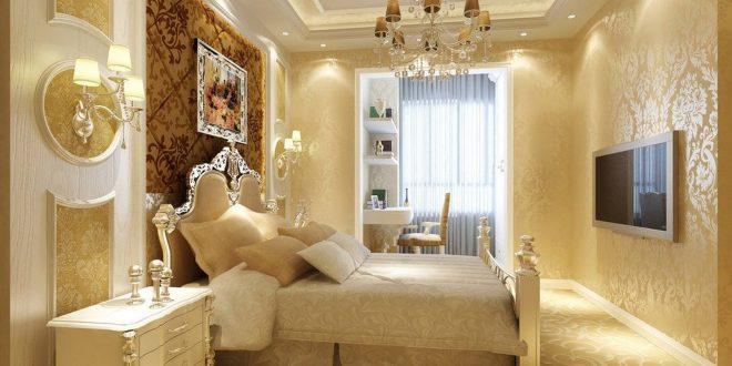 صورة ديكورات جبس غرف نوم , ديكور غرفة نوم يجنن
