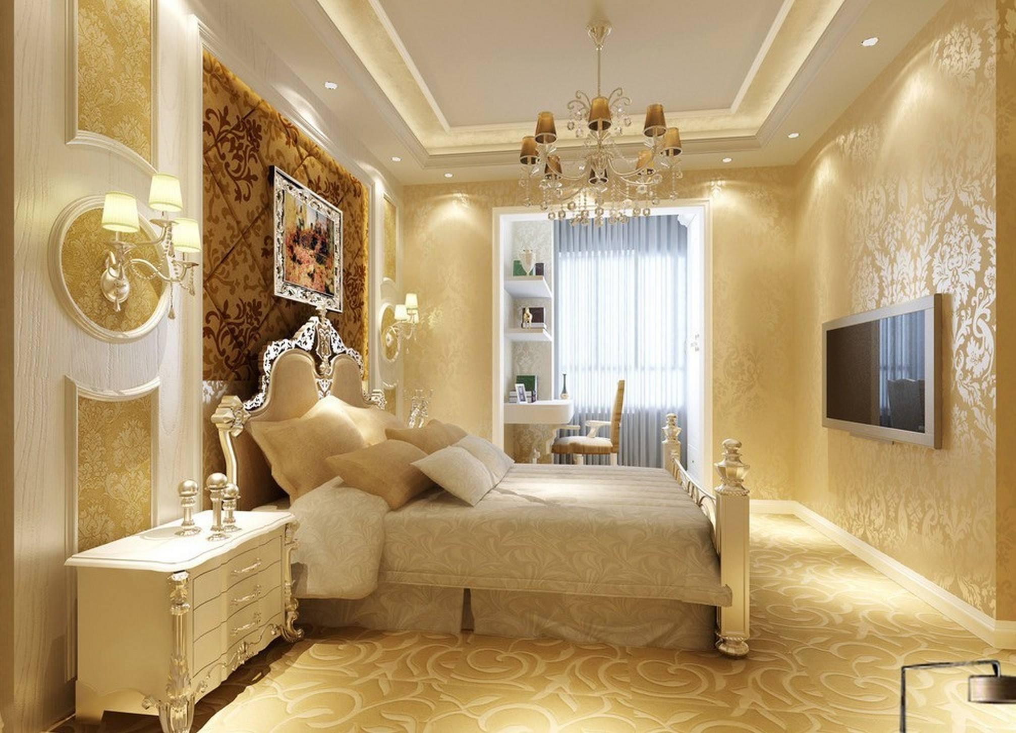 صوره ديكورات جبس غرف نوم , ديكور غرفة نوم يجنن