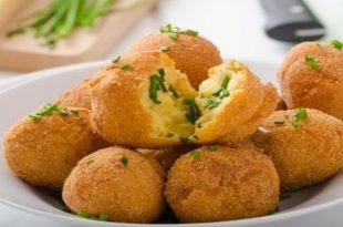 صور طريقة عمل كرات البطاطس , احلى طريقه لكرات بطاطس