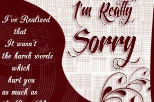 صورة رسالة اعتذار بالانجليزي , مسجات اسف وندم باللغة الانجليزية