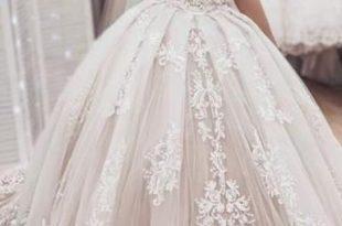 صورة فساتين زفاف فخمه , فساتين افراح لاحلي عرايس