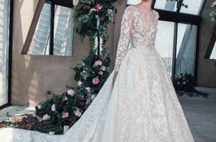 صورة صور فساتين عروس , يارب كل البنات تلبس الفستان الابيض