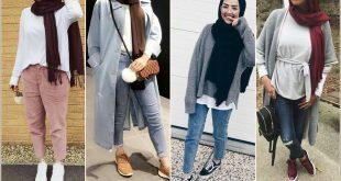 صورة ملابس بنات محجبات , ازياء خروجات للبنات