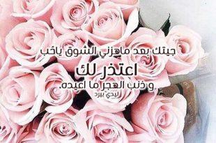 صورة كلام اعتذار للحبيب , سامحني يا حبيبي عشان خاطري