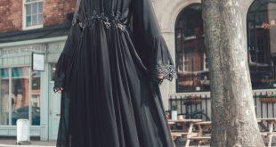 عباية سوداء